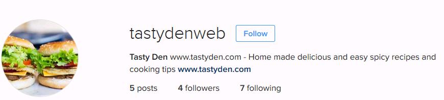 tastyden-instagram-page-image
