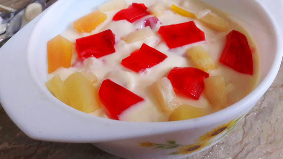 Fruity Snow Dessert2