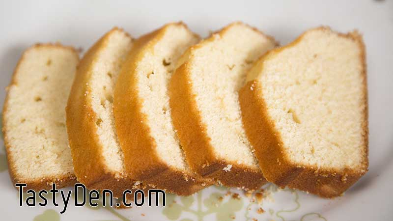 Simplest Plain Vanilla Cake Tastyden